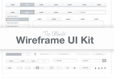 Medialoot - The Ultimate Wireframe UI Kit