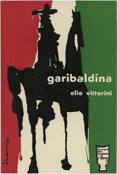 Garibaldina, Elio Vittorini, Portugália Editora, O livro de bolso 25, design António Charrua, 1961
