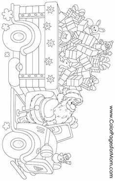 Christmas Coloring Page 108