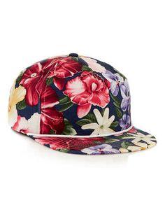 Agora Vintage Aloha Floral Snapback Cap 265ec7ef251