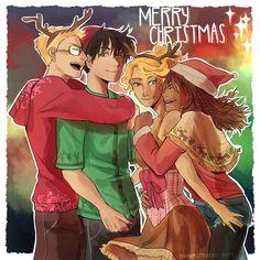 Dorks   art by cookiecreation pj Christmas