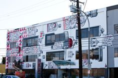 L.A. Weekly Building--saw them painting it since I drive by on my way home everyday