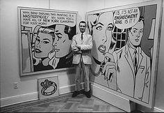 Roy Lichtenstein at Gagosian Gallery