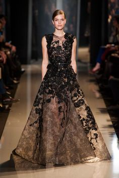 Elie Saab Spring 2013 Couture PFW.