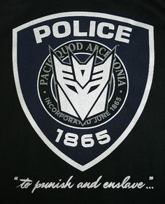 cartoons logos Decepticon Barricade Police Ins - Transformers Decepticons, Transformers Cars, Transformer Tattoo, Tv Show Games, Cartoon Logo, Game Character Design, Sound Waves, Comic Book Characters, Challenges