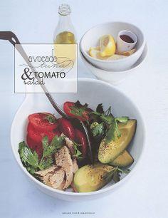 Avocado, tuna & tomato salad