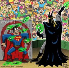 This looks like a kids charity event. That Lex and Bruce put together.
