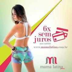 Parcele suas compras Mama Latina sem pagar juros no nosso site www.mamalatina.com.br . Visite nossa página e conheça nossa coleção    #precinho #look #fitness #academia #corrida #caminhada #yoga #crossfit #tagsforlikes #musculaçao #moda #lfl #modaesportiva #modafitness #modafeminina #regata #top #legging #gym #follow #happy #linda #projetomimis #projetoverao #mulheresquetreinam #maromba