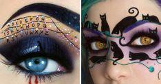 I Create Halloween Make Up Using Eyes As My Canvas | Bored Panda