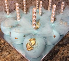 Cutest Little Baby Feet Cakepops