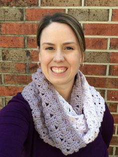 Treat yourself to this stylish crochet cowl! The Winter Berry Cowl is a fantastic crochet pattern to work up this season because it's both trendy and functional. Wrap this cozy cowl around your neck and stay warm all day long.  The Winter Berry Cow