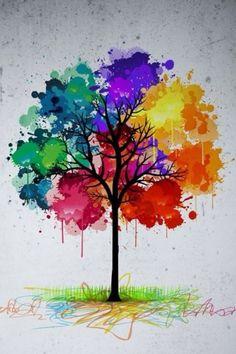 Árbol arco iris