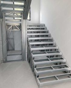 #stairs #steelstructure #structure #structuralsteel #steelframing #framing #lightsteel #profile #lightgauge #steel #lgs #lfs #building #modern #construction #design #production #manufacturer #fast #ecological #ossaturemétallique #staalframe #bouw #steelframedesigns #unicrotarex #highquality #loadbearing #structure #stahl #acero #estructura #struttura #acciaio Steel Frame Construction, Construction Design, Modular Structure, Steel Structure, Future Buildings, Roof Trusses, Concrete Slab, Steel House