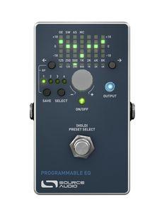 Source Audio Source Audio Source Audio Programmable EQ  2016 Grey
