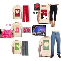 Future World Disney Family Outfits on Polyvore featuring Levi's and Disney
