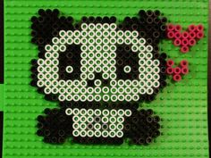 Panda Perler by Nik Persram, via Flickr