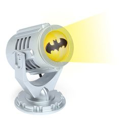 The perfect addition to any office desk! Mini Batman Bat-Signal.