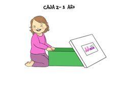 Para los no tan bebés, entre 2 y 3 años: didiBOX 2-3.