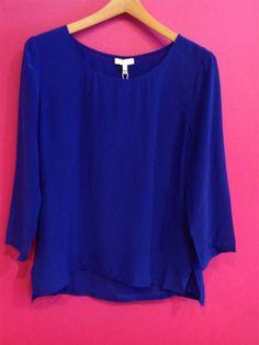Twitter / MyntBoutique: Joie cobalt blouse!