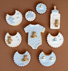 Pasteleria Alma baby stuff sugar cookies | Sumally