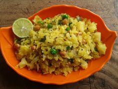 Poha Recipe - Kanda Batata Poha Recipe - DIY Worthy |DIY Projects & Crafts