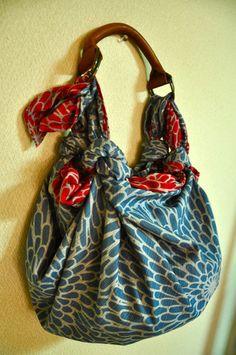 風呂敷ハンドの使い方、〜バッグの作り方色々〜*の画像 | hand