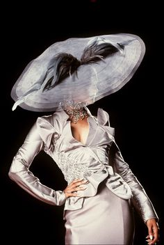 "Christian Dior, Haute Couture Fall/Winter 2000   as a side note,  if you like hats, ""A Head for Hats""  is a great board"