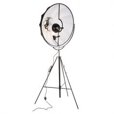 Fortuny Floor Lamp - Black/white | Memoky.com