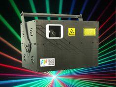 Laser Know How RGB 18 Watts VERY HIGH POWER Laser Light Show Projector ILDA,DMX | eBay Dj Equipment, Lighting Sale, Ebay, Dj Setup