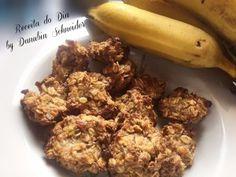Biscoito de banana com granola - Receita do Dia