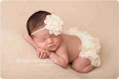 Ivory Baby Headband Ivory Flower Headband by SweetEllasBoutique, $8.95
