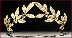 A gold-and silver-mounted diamond-set tiara, signed by Carl Faberge, part of the Russian Crown Jewels