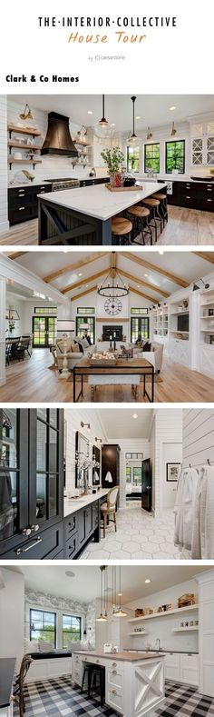 Clark & Co Homes creates the ultimate family house inspired by farmhouse-chic designs and a cohesive color palette throughout. The house features Statuatio Nuvo, Jet Black, and Calacatta Nuvo counters throughout.