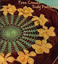 Free Crochet Doilies Patterns....LOVE free crochet patterns!