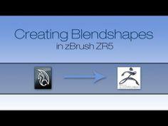 zBrush: Blendshapes Tutorial - YouTube