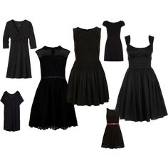 """""""Little Black Dress: Style Dial #2"""" by nadam1 on Polyvore"""