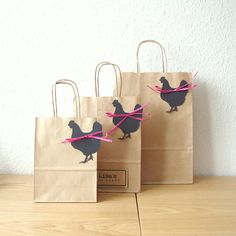 Hen party bag MEDIUM goodie bags x x with black hen tag, personalised texts and choice of ribbon colour Goodie Bags, Gift Bags, Hen Party Bags, Lisa, Sweet Cones, Eye Make-up Remover, Perfume Samples, Paper Ribbon, Mini Hands