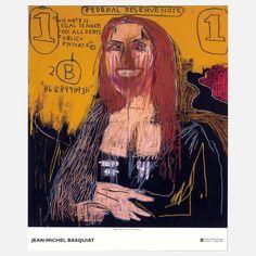 Mona Lisa, by Jean Michel Basquiat