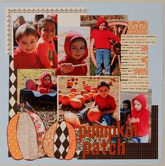 Pumpkin Patch 2010 - Scrapbook.com