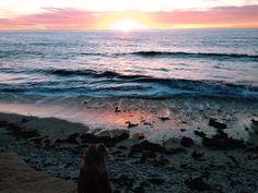 me & the sea.