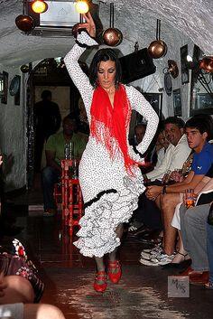 Gypsy Flamenco Dancer, Granada, Andalucia, Spain by Mikey Stephens, via Flickr