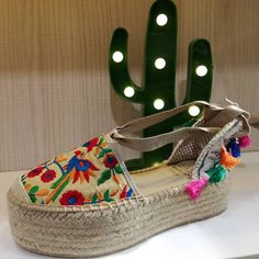 We can' t wait for spring to come!   #espadrilles #spring #newcollection  #potxo_tremp  www.potxo.net