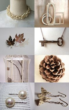 Shabby and Chic by Loraine Kazenstein on Etsy - My faux-pearl hair pins were featured in this treasury! :-)