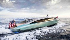 Hodgdon mega yacht limo tender to celebrate 200 years of history