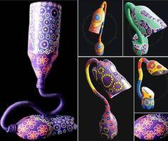 Pet Bottles Lamp -  Art