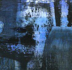 GRISAZUR: Acrílico sobre papel, 13x13 cm.Oct. 25, 2016