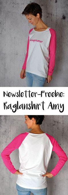 Aus dem kostenlosen Schnittmuster Raglan-Shirt Amy von Pattydoo ist ein richtiges Wohlfühlshirt entstanden. Bei mir im Blog findest du alles Links! Selbermachen macht glücklich - DIY, Nähen, Biostoffe, Garten