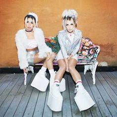 REBECCA SCHEJA & FIONA FITZPATRICK Photo: Theo Elias #rebeccafiona #edm #DJS