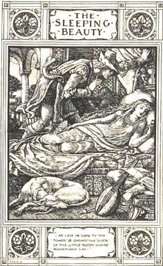 Sleeping Beauty  by Walter Crane (I may have pinned this more than once...)