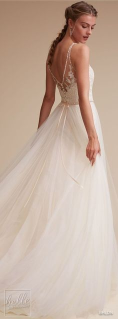 Wedding Dress by BHLDN #weddingideas